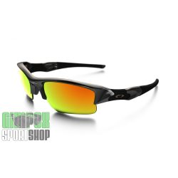 OAKLEY Flak Jacket XLJ Polished Black Fire Iridium