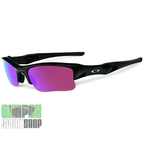 OAKLEY Flak Jacket XLJ Polished Black Prizm Golf