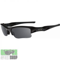 OAKLEY Flak Jacket XLJ Matte Black Black Iridium Polarized