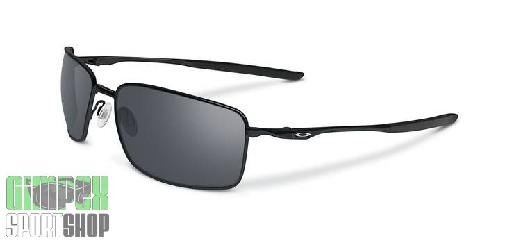 OAKLEY Square Wire Polished Black Black Iridium