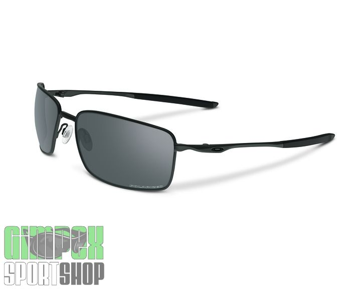 OAKLEY Square Wire Carbon Gray Polarized