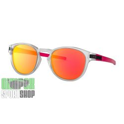 OAKLEY-Latch-Crystal-Pop-Matte-Clear-Prizm-Ruby