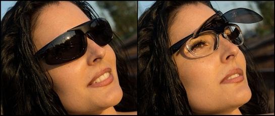 Dioptriázható napszemüveg