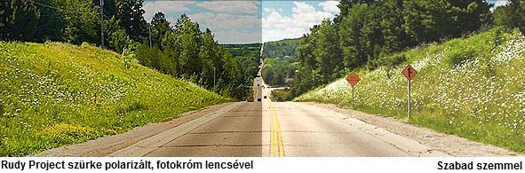 Rudy Project napszemüveg szürke polarizált, fotokróm lencsével