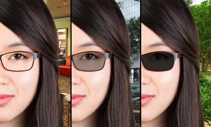 Az egyik ilyen a fényre sötétedő lencséjű szemüveg a079651410
