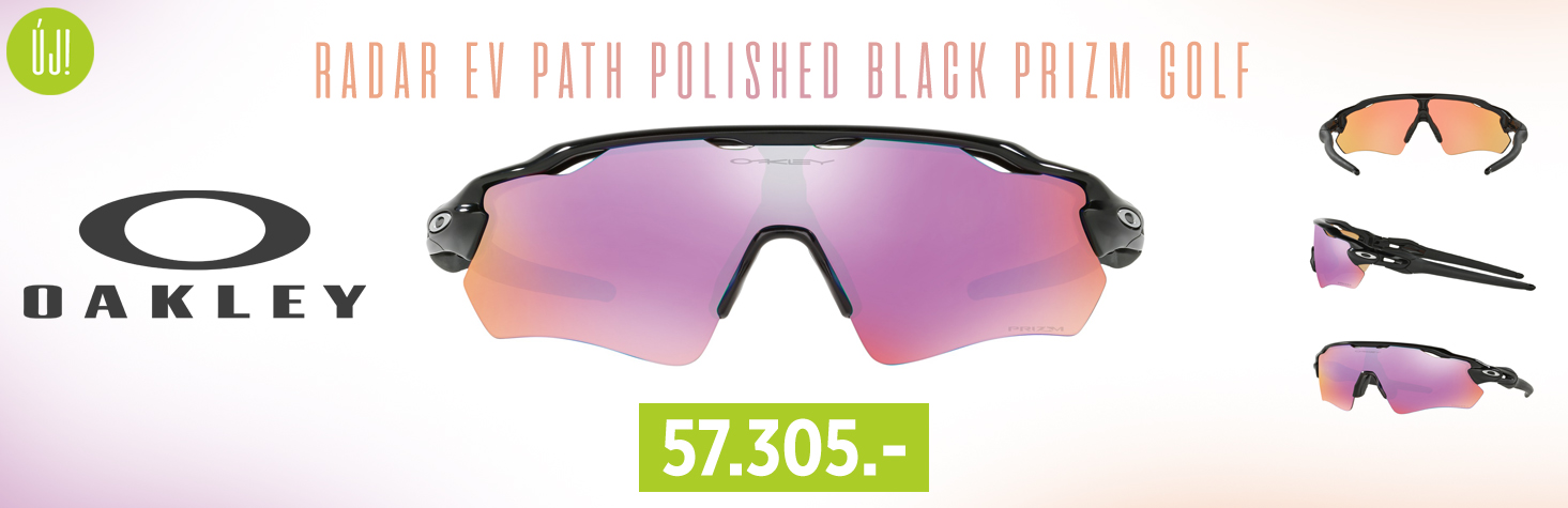 OAKLEY Radar EV Path Polished Black Prizm Golf